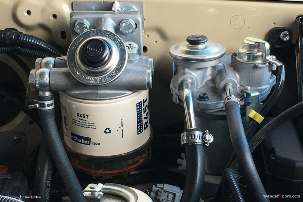 2x Fuel Filters (Racor + Toyota Stock)
