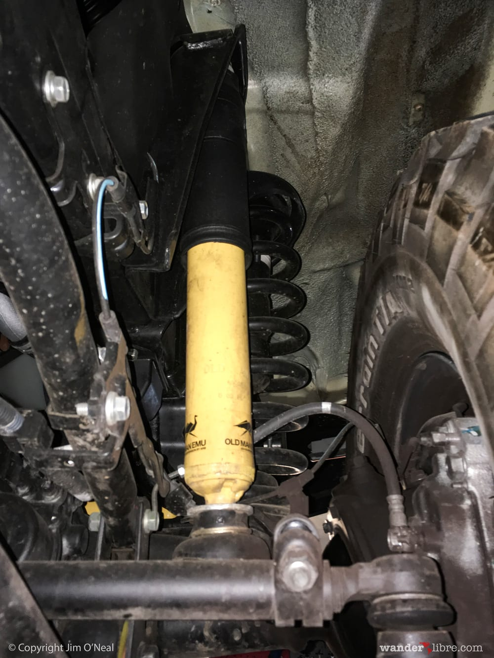 OME Front Shocks and Springs