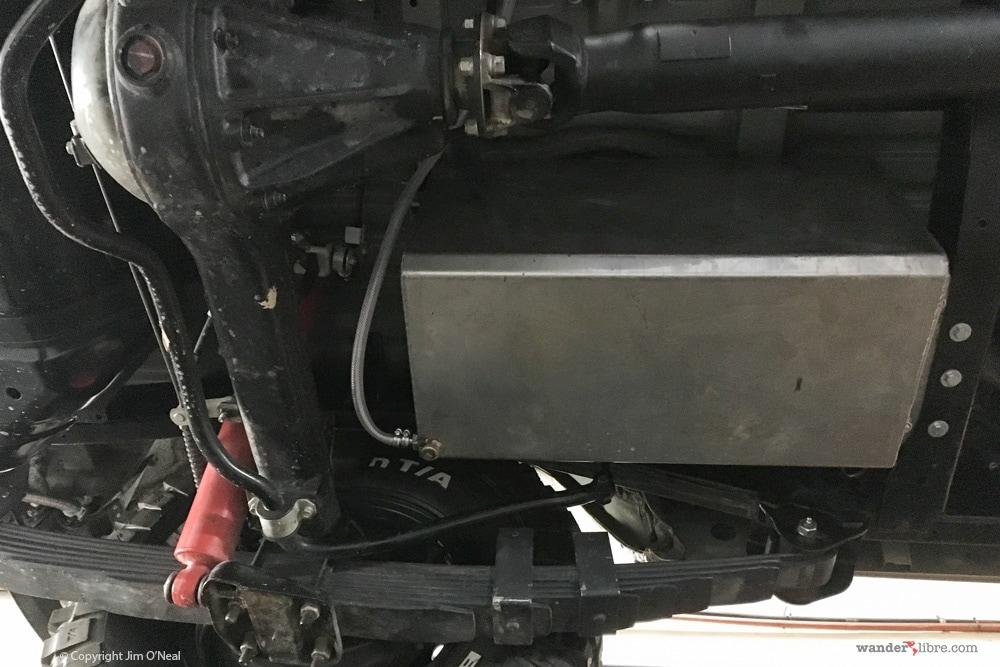75 Liter Stainless Steel Water Tank