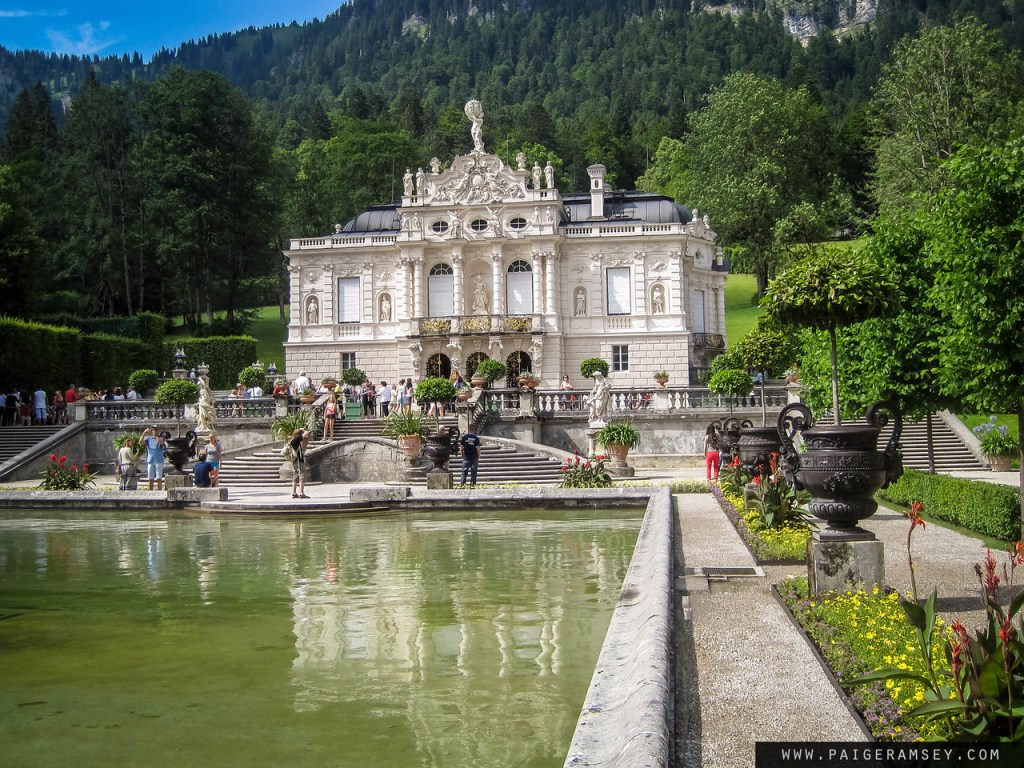 Linderhof Palace in Ettal
