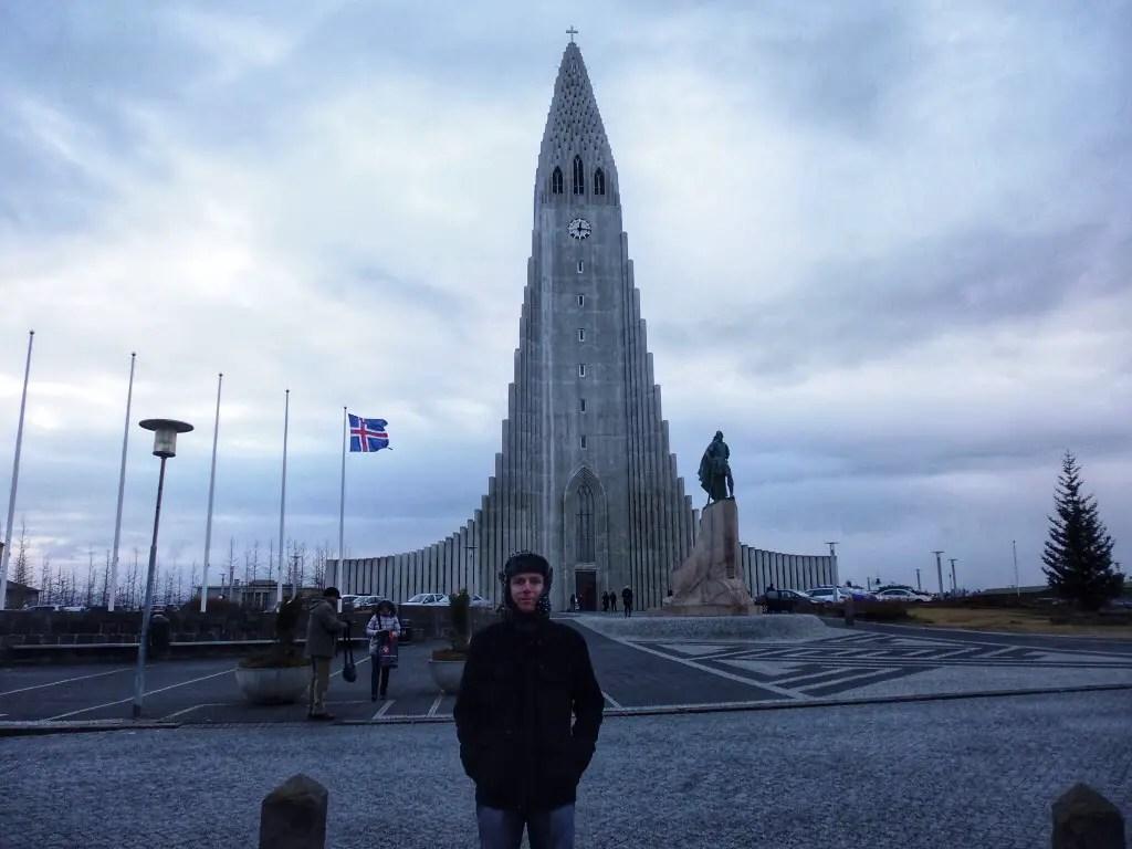 4 day Iceland itinerary stop one Hallgrimskirkja