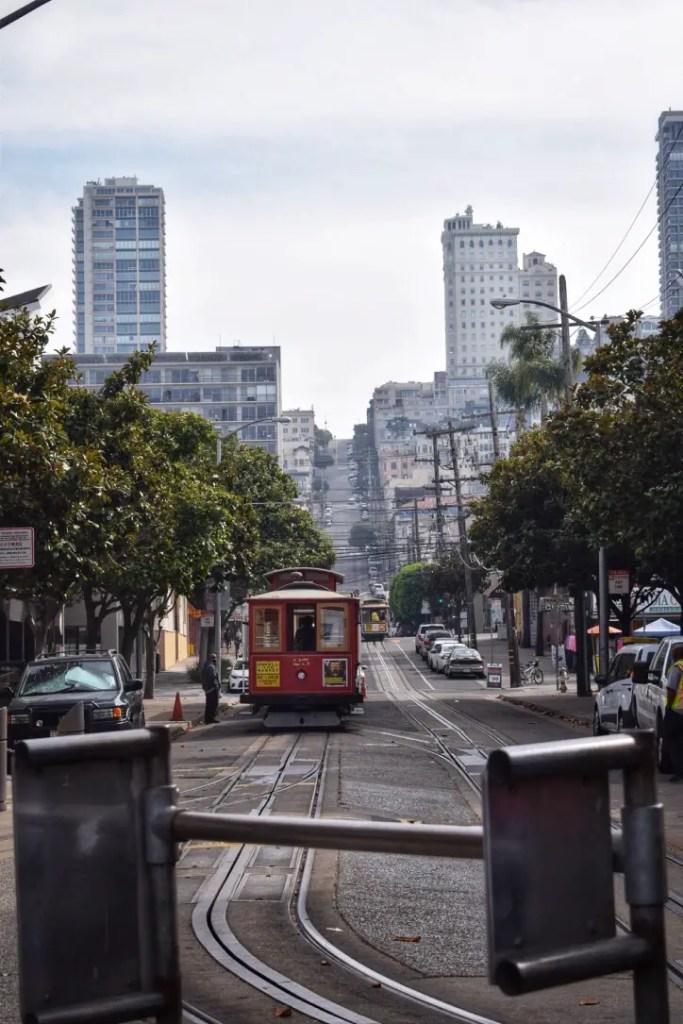 Streetcar in San Fran