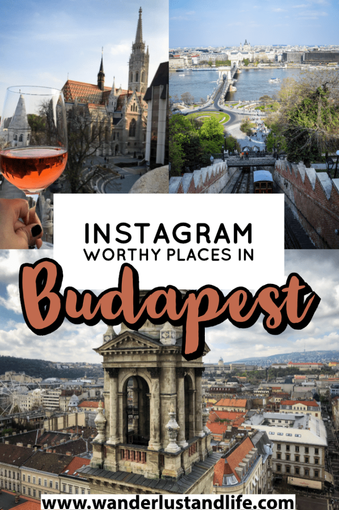 If you are looking for a guide to the most Instagrammable places in Budapest this article is for you. We go through the best photo spots in Budapest and how to get that perfect shot at each one. #wanderlustandlife #budapest #europe