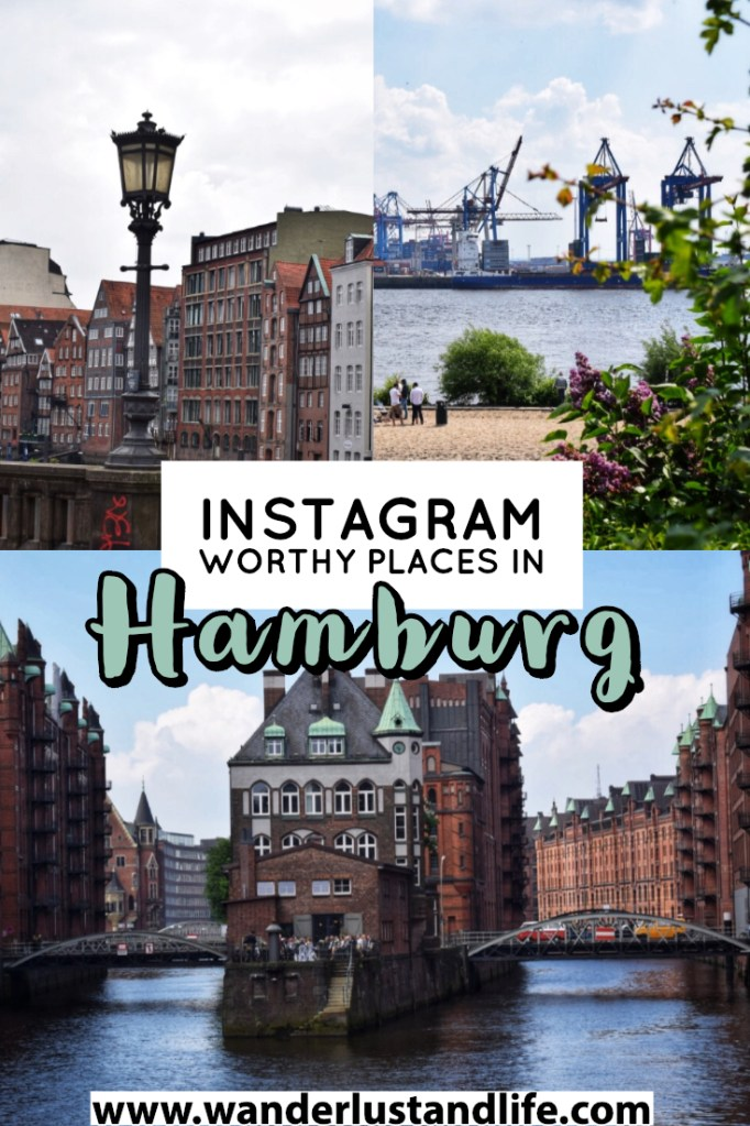 Looking for the most Instagrammable places in Hamburg? This article will help you find those hidden gems and Instagram worthy places in Hamburg. From the city's bridges and architecture, to its scenic harbour we detail the best photo spots in Hamburg so that you don't miss out. #hamburg #germany #wanderlustandlife
