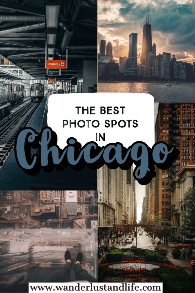 This guide includes some of the best places to take pictures in Chicago from the photogenic architecture to the Bean, and everything in between. This is our list of the best photo spots in Chicago including how to get to each one. #wanderlustandlife #chicago #instagramguide