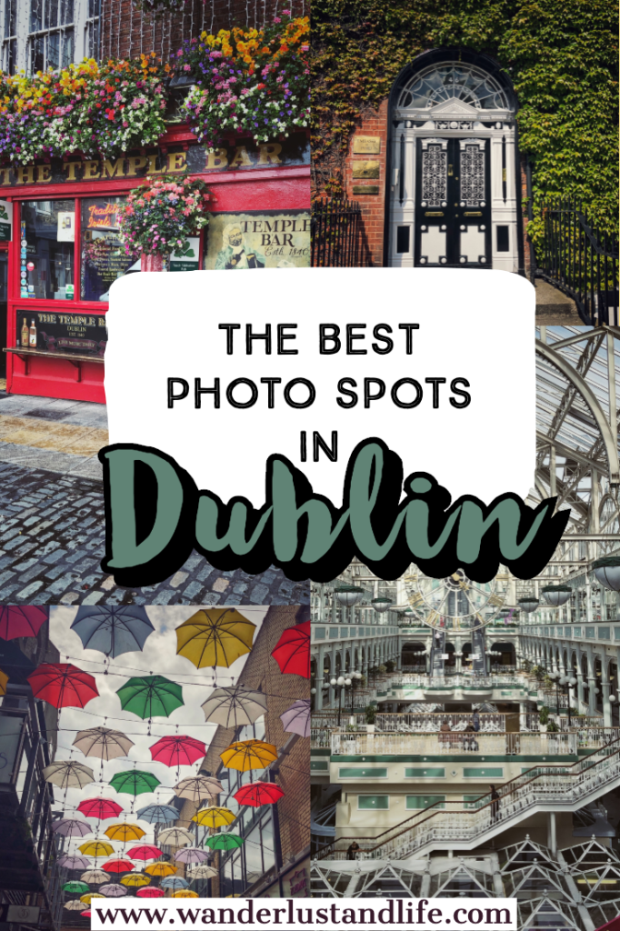 If you are looking for the most Instagrammable places in Dublin, this post has you covered. The stunning Irish capital has so many incredible photo spots, from a magical library, impressive cathedrals, and some very colourful pubs. This is our guide to the most Instagram Worthy places in Dublin. #wanderlustandlife #dublin #ireland