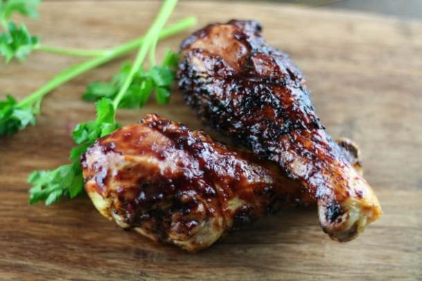 Blackberry Chipotle BBQ Chicken