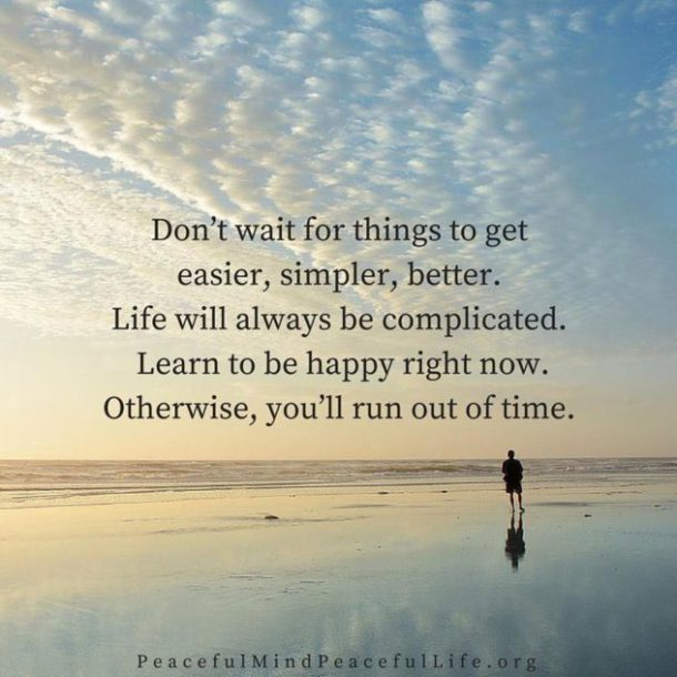 Don't Wait Quote