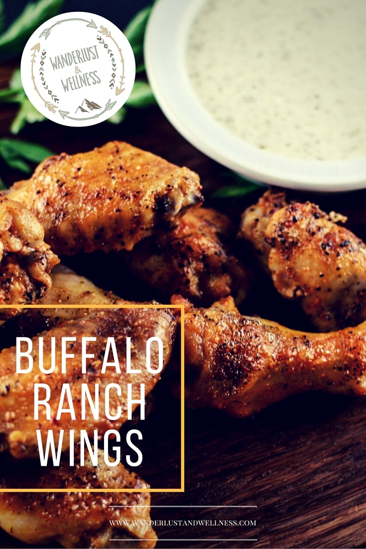Buffalo Ranch Chicken Wings