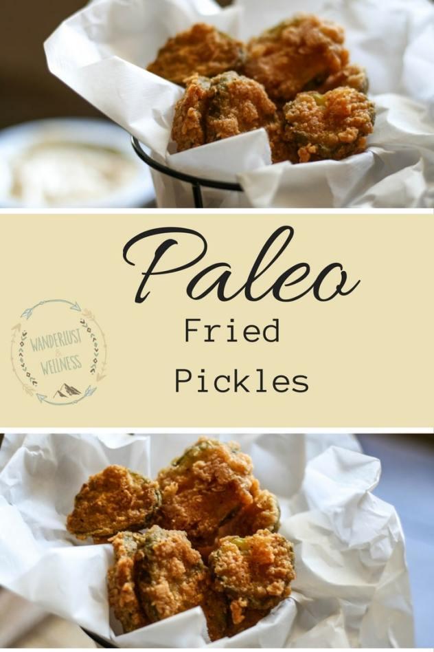paleo fried pickles