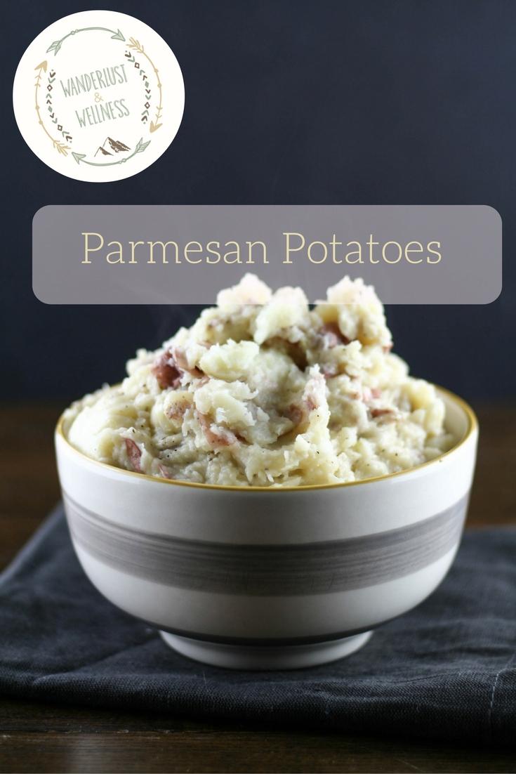 mashed parmesan potatoes