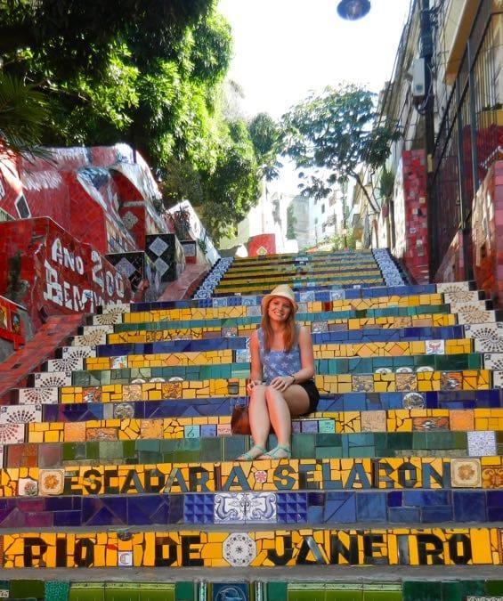 Wanderlust Chloe Lapa Steps, Rio