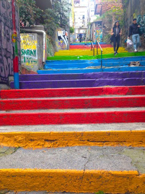 Rainbow Steps, Istanbul