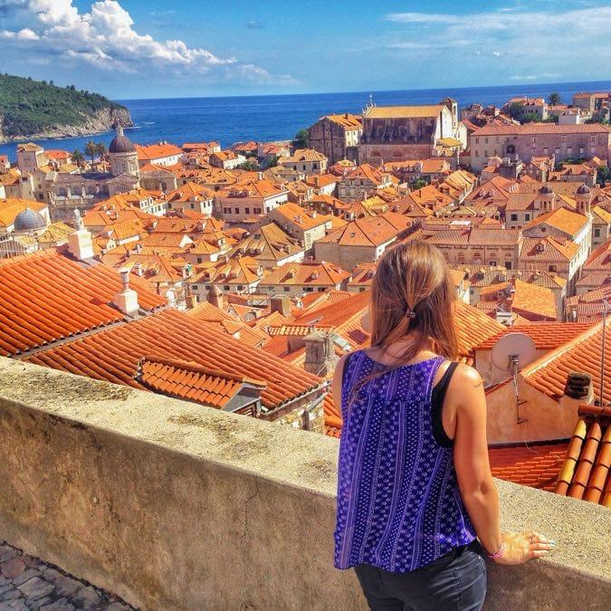 Incredible View Dubrovnik City Walls