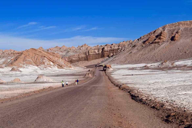 Driving through El Valle De La Luna, Chile