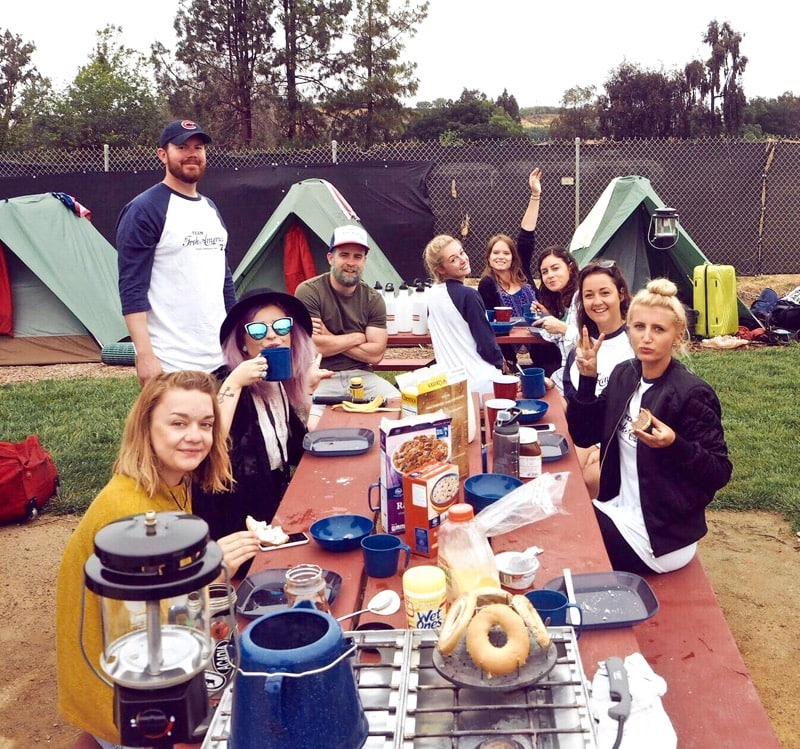 iTrekHere group camping
