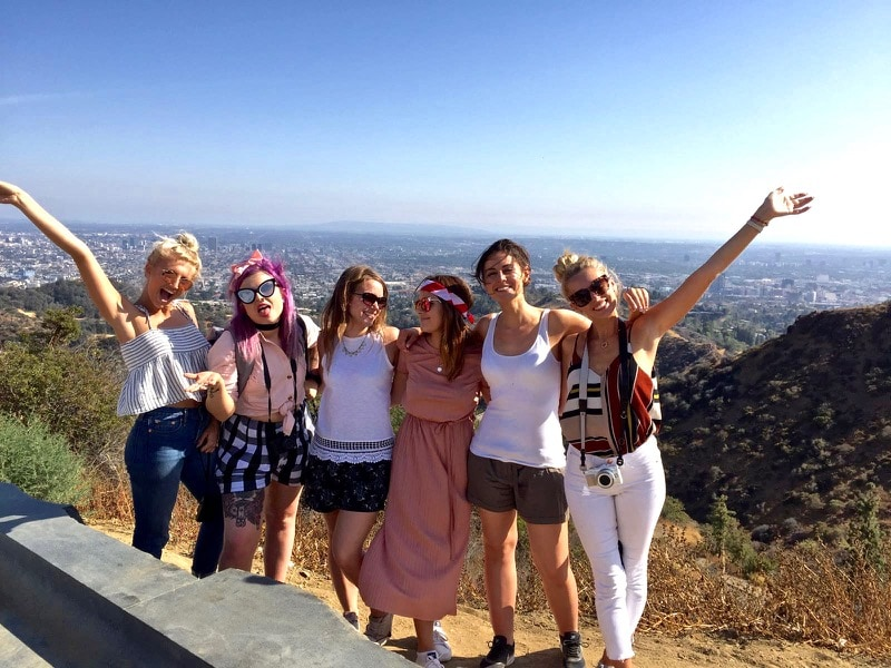 iTrekHere group in Hollywood