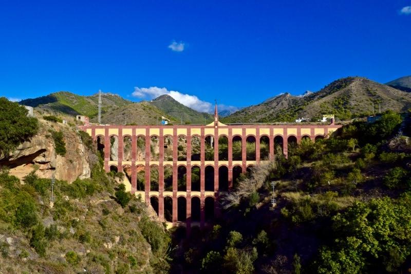 Acueducto del Águila, Nerja, Spain