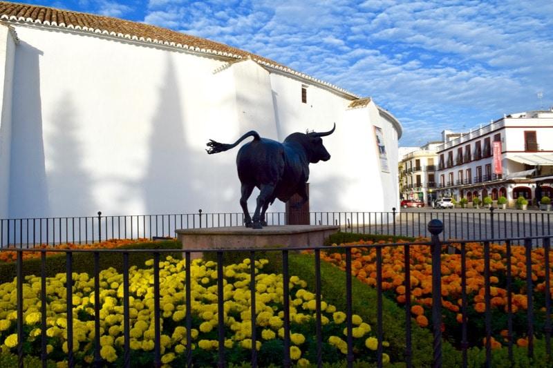 Ronda's famous bullring, Spain