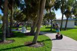 Segway tour around Stuart, Martin County, Florida