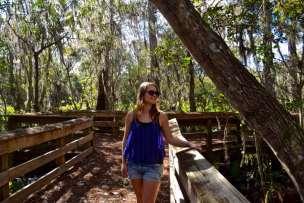 Checking out Barley Barber Swamp, Martin County, Florida