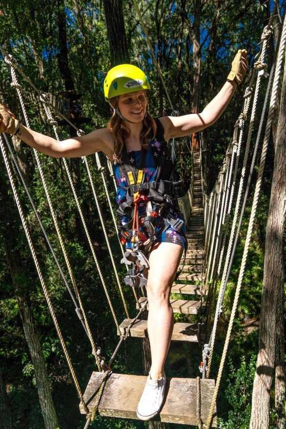 Ziplining In Hawaii