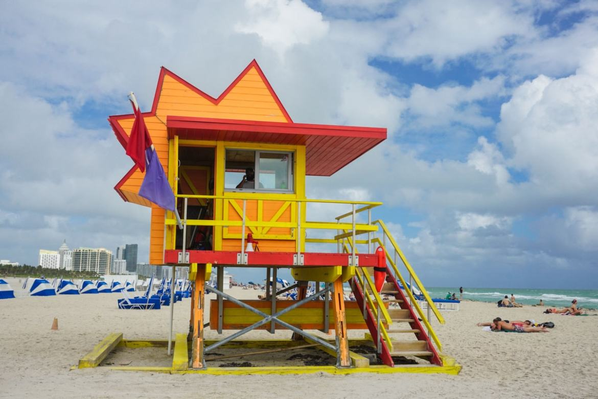 A Tour Of Miami Beach's Colourful Lifeguard Towers