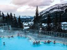 Banff Canada Hot Springs in the Winter