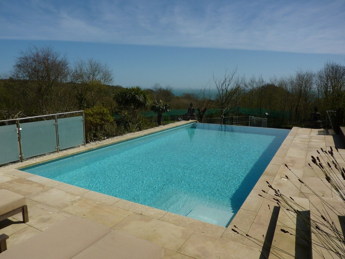 Pool at The Summer House, Cornwall