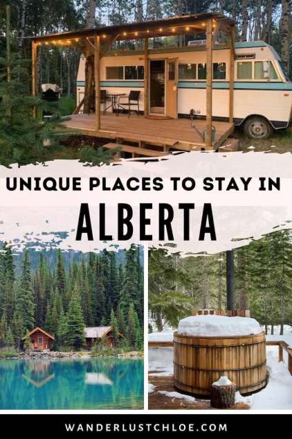 Best places to go glamping in Alberta