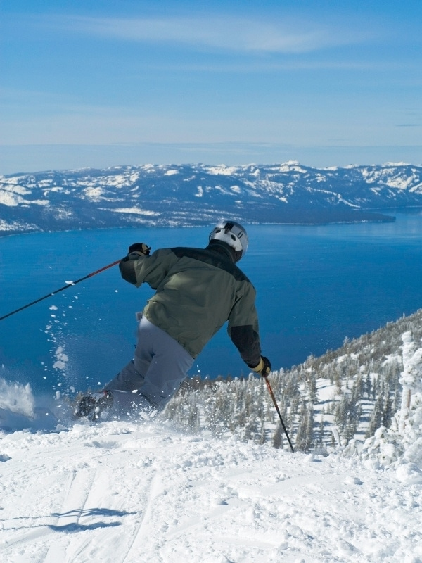 Skiing is one of the most popular things to do in Lake Tahoe in winter