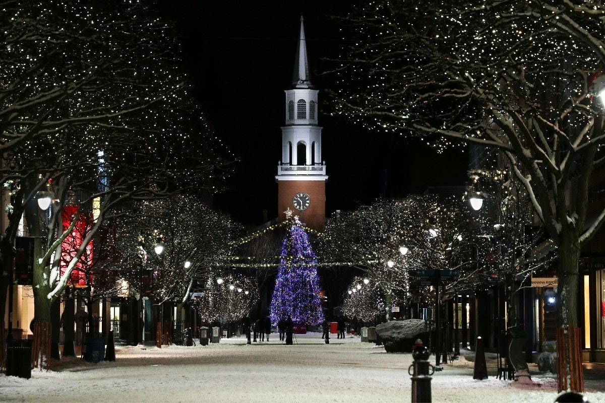 Burlington is a great place for shopping in Vermont