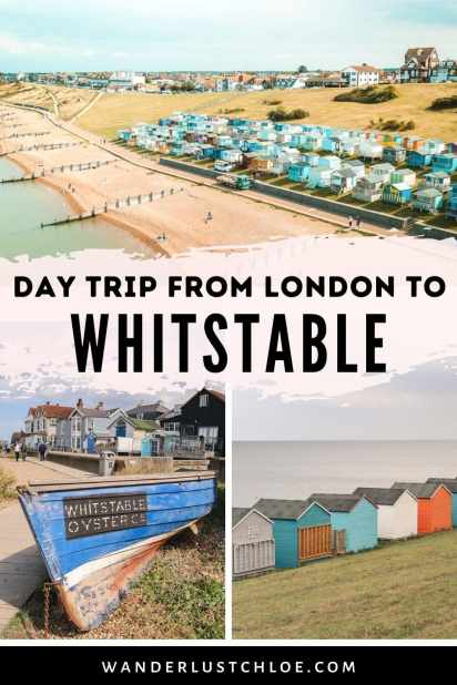 London to Whitstable day trip