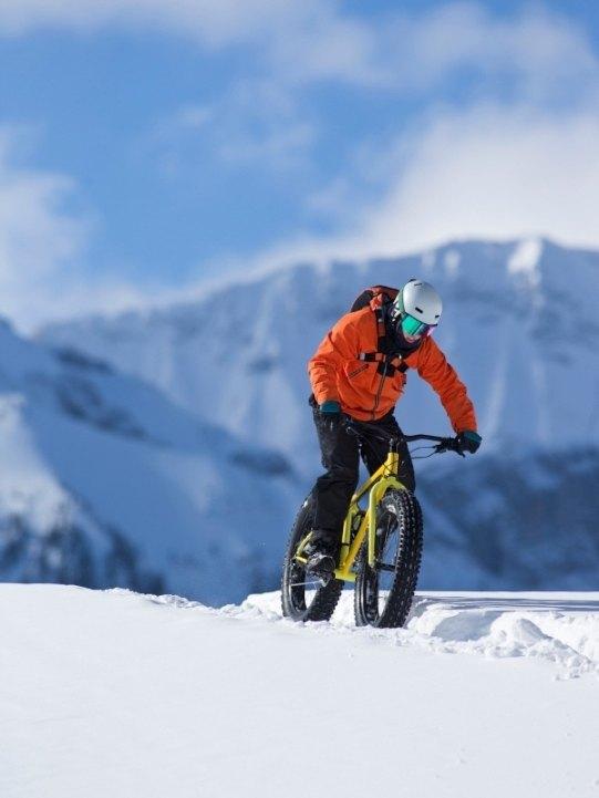 Fat biking in Vermont