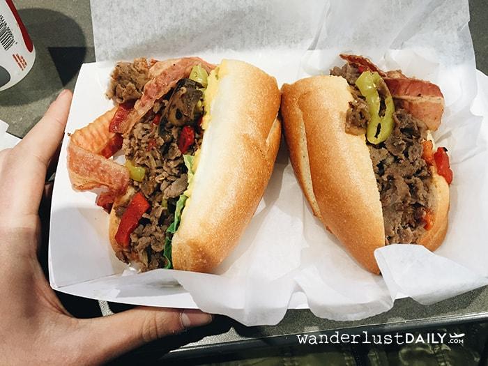 dove mangiare cheesesteak philadelphia