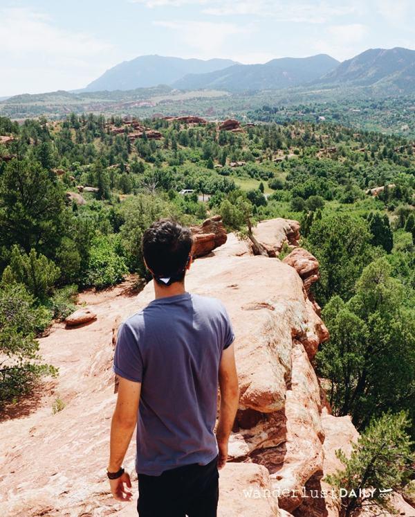 Garden of The Gods - tour del Colorado