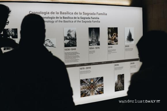 Il museo della Sagrada Familia