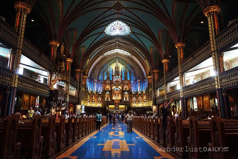 visitare basilica notre dame montreal