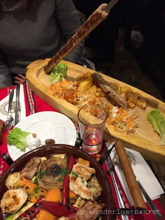 dove mangiare a sofia tipico