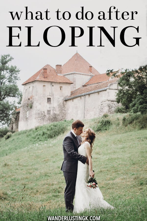 our post elopement party
