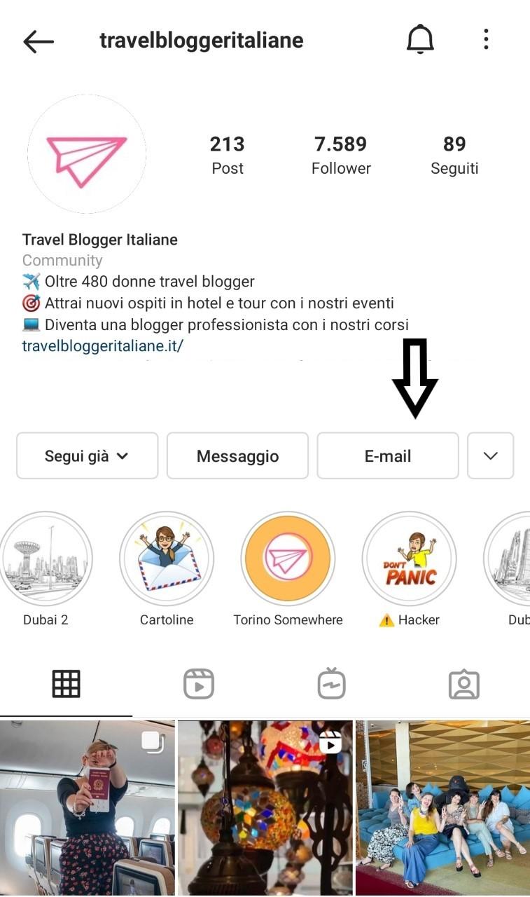 biografia di instagram 4