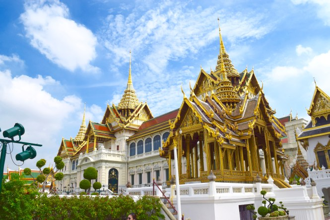 bangkok's grand imperial palace