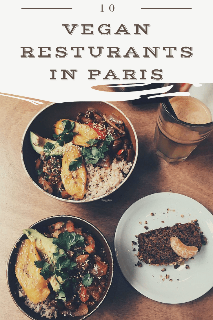 10 Vegan Restaurants in Paris
