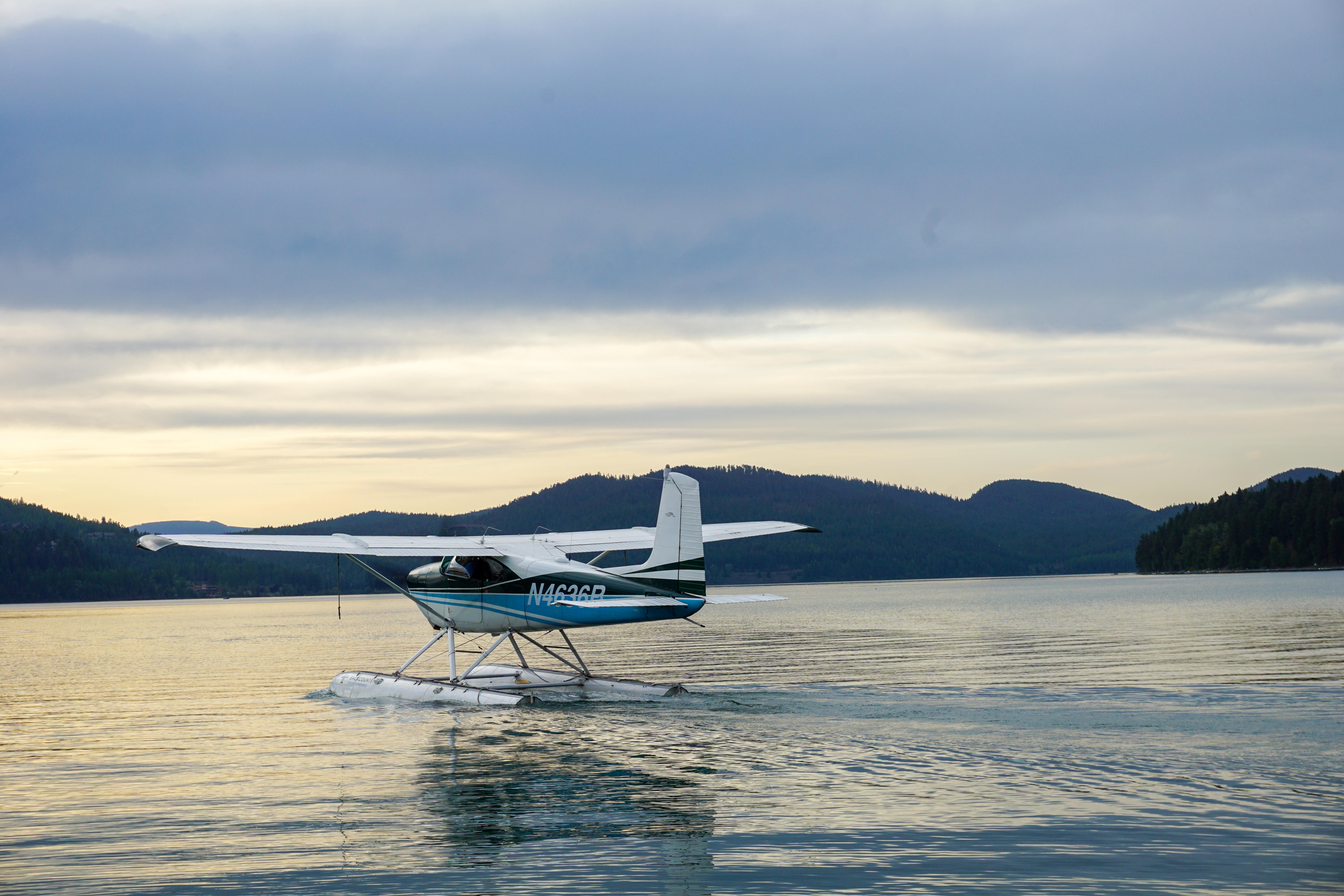 Backcountry Flying Experience Whitefish Montana