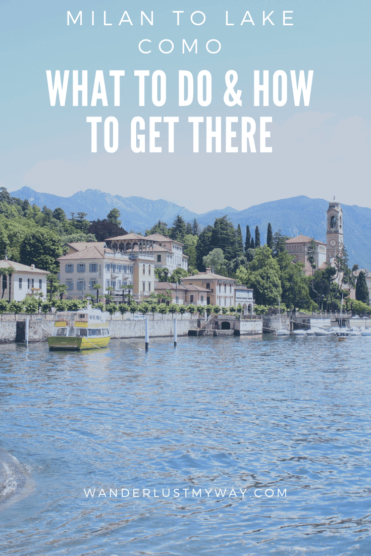 Milan to Lake Como