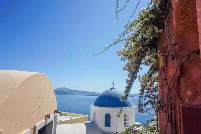 Blue Dome Oia, Santorini