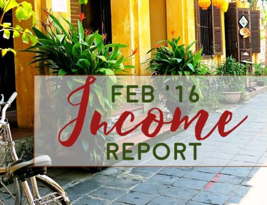 Travel Blog Income Report - January '16