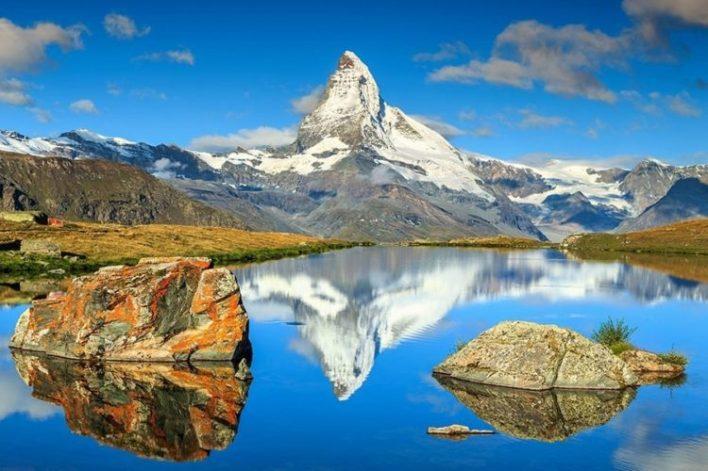 Matterhorn, İsveçrənin ən mənzərəli yerləri
