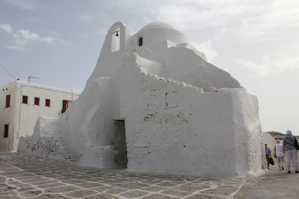 Church on Mykonos island