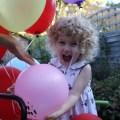 Mrs T on her third birthday